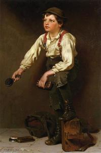 John George Brown - Para engraxar os sapatos Boy 1