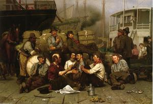 John George Brown - Meio-dia do Longshoremen