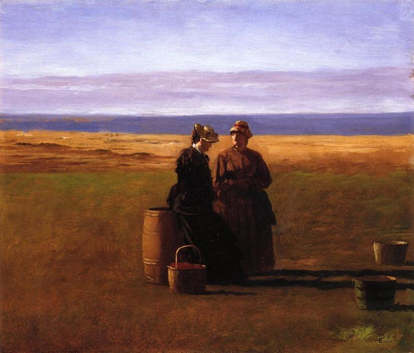 o conversa por Jonathan Eastman Johnson (1824-1906, United Kingdom)