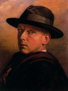 Jorge Apperley (George Owen Wynne Apperley) - Self-portrait 1