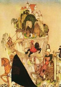 Kay Rasmus Nielsen - Montando Out to Woo