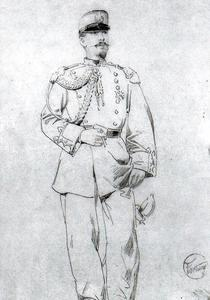 Mariano Fortuny - Tenente Adolf Pons, vice-General Prim