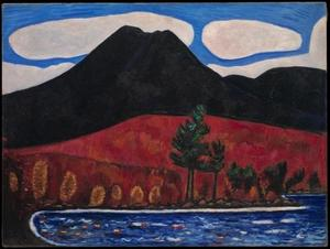 Marsden Hartley - Mt. Katahdin, Maine, No. 2