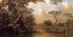 Martin Johnson Heade - O Grande Florida Marsh