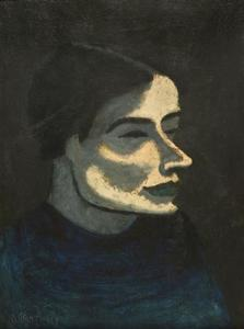 Milton Avery - russo mulher