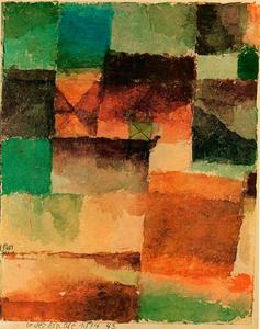 Paul Klee - camelo no deserto