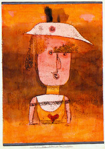 Paul Klee - retrato da sra . P . no sul