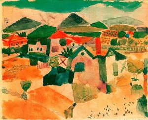 Paul Klee - Vista de Saint-Germain