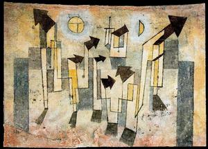 Paul Klee - Parede do Templo de Nostalgia