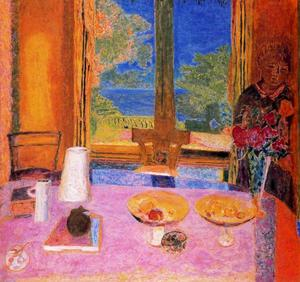 Pierre Bonnard - dining` no zona rural