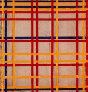 Piet Mondrian - new york II
