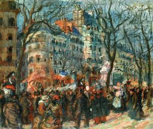 Raoul Dufy - Carnaval do Grands Boulevards