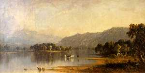 Sanford Robinson Gifford - Monte Washington do Saco Rio