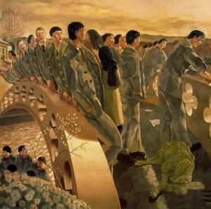 Stanley Spencer - a ponte