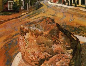 Stanley Spencer - The Stone Tarry. Cookham
