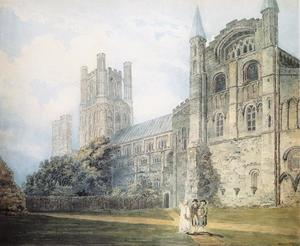 Thomas Girtin - Ely Catedral do South­East ( depois de james moore )