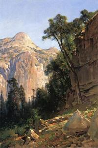 Thomas Hill - North Dome, Vale de Yosemite