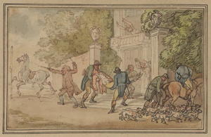 Thomas Rowlandson - return` do caça