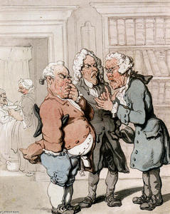 Thomas Rowlandson - Consulta do doutor