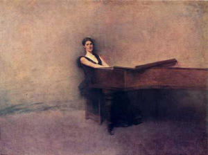 Thomas Wilmer Dewing - o piano