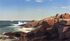 William Stanley Haseltine - Indian Rock, Narragansett, Rhode Island