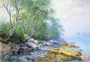William Stanley Haseltine - Selo Contas de , Monte Deserto , Maine