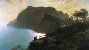 William Stanley Haseltine - O mar de Capri