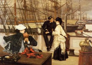 James Jacques Joseph Tissot - o capitão e o `mate`