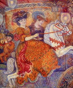 Georges Lemmen - Carnaval: The Carousel