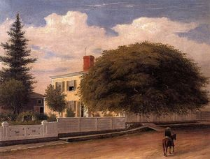 Fitz Hugh Lane - Castine Homestead