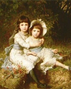 Karl Wilhelm Friedrich Bauerle - Cecile E Adela, Children Of George Drummond