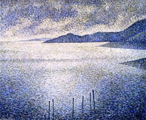 Theo Van Rysselberghe - Canal Coast
