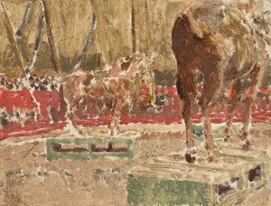 Walter Richard Sickert - circo esboço