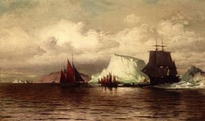 William Bradford - A costa de Labrador