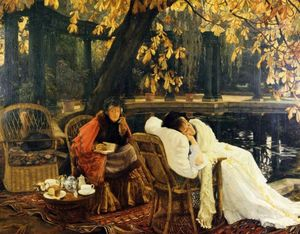 James Jacques Joseph Tissot - uma convalescente