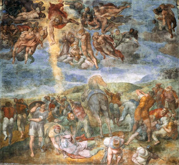 the portrayal of michelangelos sculptures and paintings What did michelangelo accomplish  and the paintings on the sistine chapel's ceiling and the  his portrayal of the human form was revolutionary in his.