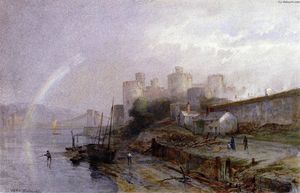 William Trost Richards - Conway Castle, Wales
