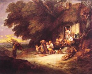 Thomas Gainsborough - The Door Cottage