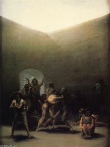 Francisco De Goya - Pátio com Lunatics