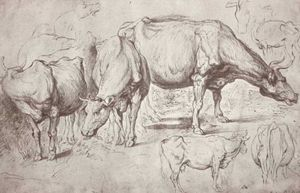 Peter Paul Rubens - Vacas