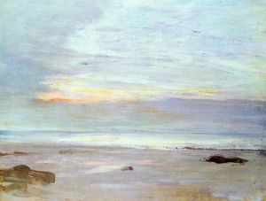 James Abbott Mcneill Whistler - Crepuscule em Opal: Trouville