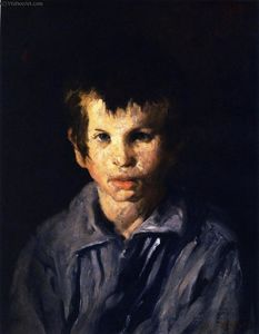 George Wesley Bellows - Cross-Eyed Boy