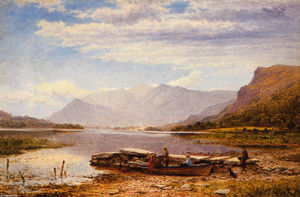 Benjamin Williams Leader - Derwentwater de Ladore