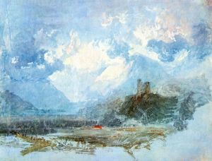 William Turner - Dolbadern Castelo