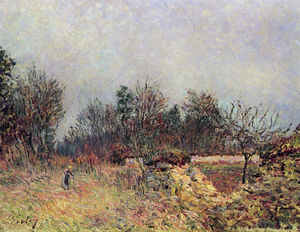 Alfred Sisley - Edge of the Forest, Dezembro