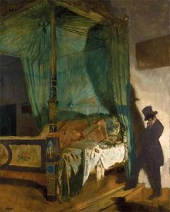 William Newenham Montague Orpen - A cama vazia