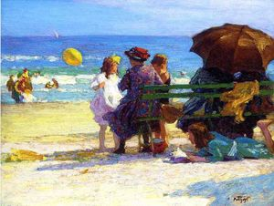 Edward Henry Potthast - A Family Outing