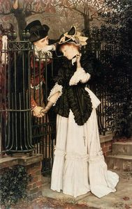 James Jacques Joseph Tissot - o despedida