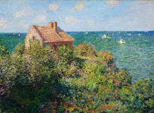 Claude Monet - Casa do pescador em Varengeville