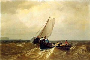 William Bradford - Barco de pesca na Baía de Fundy